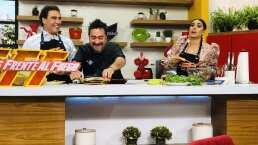 Cocina de hoy: Eduardo Yáñez se deja consentir con su platillo favorito, tuétano con salsa cruda de chapulín