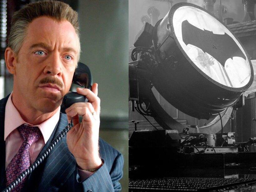 J.K. Simmons como el editor de Daily Bugle en Spiderman y próximamente Commissioner James Gordon en Justice League.