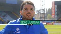 El nuevo técnico del Puebla tiene a su ídolo