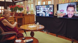 Eugenio Derbez logra que el Dalái Lama se sincere como nunca antes en una profunda entrevista
