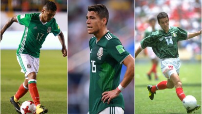 El balance total es de cinco derrotas, dos empates y tres victorias cuando algún jugador azteca se enfrenta ante ellos.