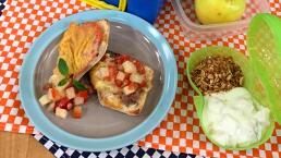 Lunch para el regreso a clases 2: Molletes de pepperoni