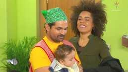 Ferdinando Valencia, Brenda Kellerman y su hijo Mateo actúan juntos por primera vez en este sketch