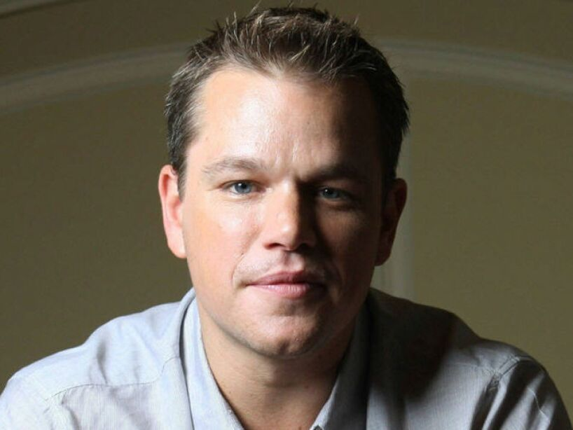 9. Matt Damon: Con una ganancia de 10.60 dólares generados por cada dólar que percibió en sus últimas 3 cintas.