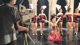 Así se prepara Itatí Cantoral para bailar cancán