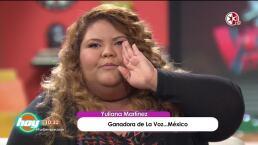 Descubre cuáles son los planes de la ganadora de La Voz…México