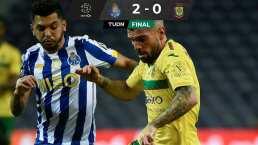 Porto y Tecatito Corona sufren pero ganan