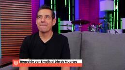 Yordi Rosado y sus reacciones al Día de Muertos.