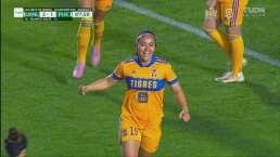 ¡La tercera fue la vencida! Blanca Solís marca el 2-1 para Tigres