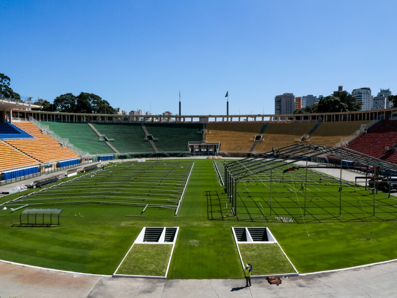Pacaembu Football Stadium to Turn Into Field Hospital Due to the Coronavirus (COVID -19) Pandemic