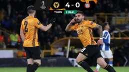 Con asistencia de Jiménez, los Wolves arrasaron al Espanyol
