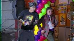 Rocko y Don Arturo se unen para trabajar en 'Vecinos'