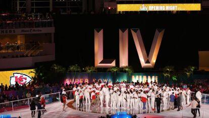 Arranca la fiesta del Super Bowl LIV con el Opening Night, en el Marlins Park de Miami. Chiefs y 49ers se declaran listos para enfrentarse.