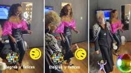 Las divertidas clases de baile que Yuri le dio a Consuelo Duval con música de los 70