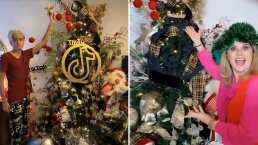 Desde esferas gigantes y arreglos de TikTok, Erika Buenfil asombra con su enorme árbol de Navidad