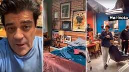 'El Burro' Van Rankin se pone nostálgico al despedirse del set de '40 y 20'