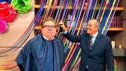 """¡Sí cumplió!: 'Coque' Muñiz pierde apuesta y le pintan el cabello de amarillo en """"Hoy"""""""