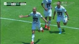 Carlos González abre el marcador en C.U.