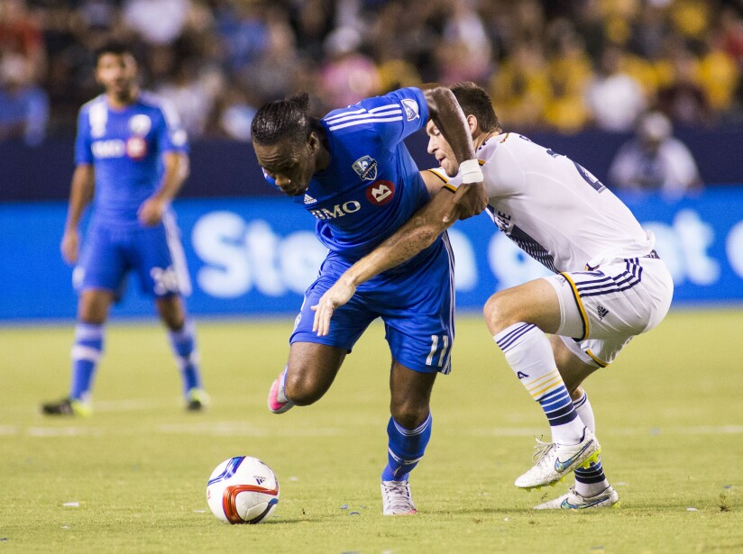 MLS Impact Galaxy Soccer