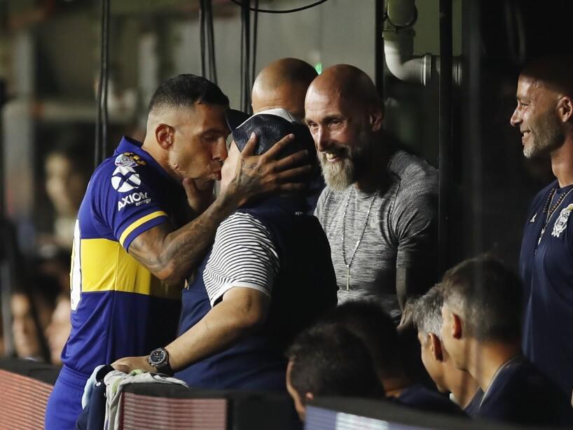 APTOPIX Argentina Soccer