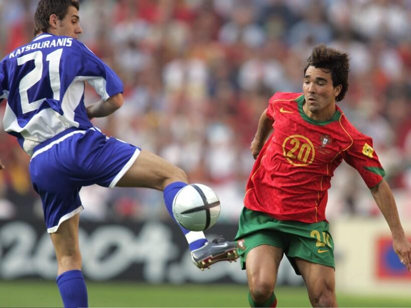 Fussball: EM 2004 in Portugal, POR-GRE