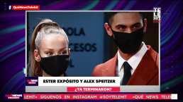 ¿Ester Expósito y Alex Speitzer ya terminaron?