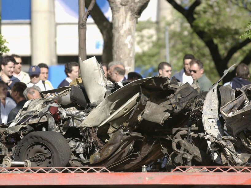 Car Bomb Explodes In Madrid