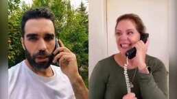 Marcus Ornellas le quita la ilusión a Erika Buenfil para irse de fiesta