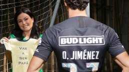 Óscar Jiménez y su pareja serán papás próximamente