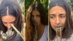 Ana Brenda Contreras recrea humillante escena de 'Corazón Indomable' en TikTok