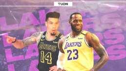 LeBron James y Danny Green se meten a la historia de la NBA