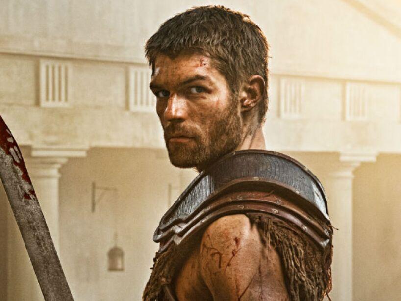 ¿Quién quiere jugar a las luchitas con este guapo Espartaco?
