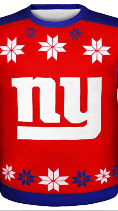 Sueter navideño de la NFL