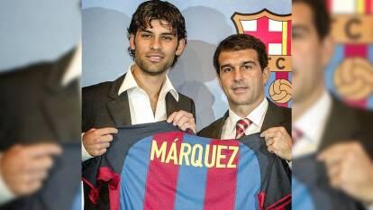 Rafa Márquez conmemoró su debut en Barcelona | El canterano del Atlas debutó hace 17 años con los culés y así lo recordó en sus redes sociales.