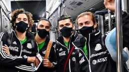 La Selección Mexicana ya viaja rumbo a Europa