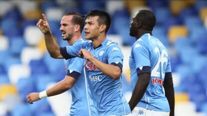 Napoli propina goliza al Genoa