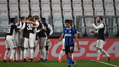 La Juventus se queda con el Clásico de Italia y vence al Inter para quedarse con el liderato de la Serie A.