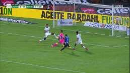 Rayados pierde el empate en dos claras jugadas frente al arco