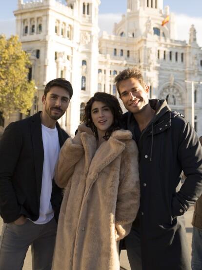 Rubén Sanz, Cassandra Sánchez Navarro y Sebastián Rulli realizaron en España algunas escenas de 'El Dragón'.<br><br><i>No te pierdas 'El Dragón' de lunes a viernes 9:30 pm. con Las Estrellas.</i></br></br>