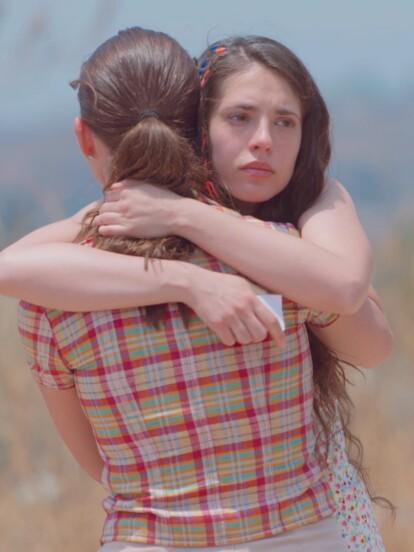 """En """"Vencer el P@sado"""", 'Mariluz' está decidida a irse a la Ciudad de México a emprender una nueva vida, así que se despide de su hermana 'Norma'."""