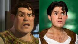 Video: Este joven es idéntico a 'Shrek' en su versión humana