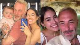 Sharon Fonseca y Gianluca Vacchi van a Fontana di Trevi para expresarse su amor con un deseo