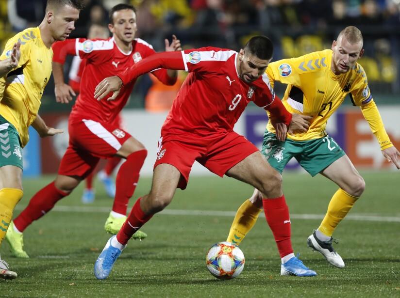Lithuania Serbia Euro 2020 Soccer