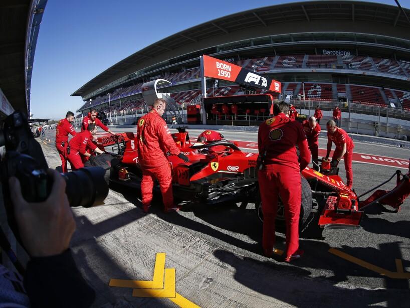 Spain F1 Pre Season Testing