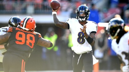 Lamar Jackson de Baltimore Ravens   QB