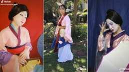Estos son los divertidos y originales disfraces de Mulán en TikTok