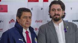 Amaury Vergara cesa al segundo entrenador de su era