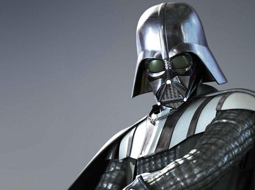 4. Darth Vader: El villano de la saga de Star Wars, con su voz tenebrosa y enemigo de los Jedis.