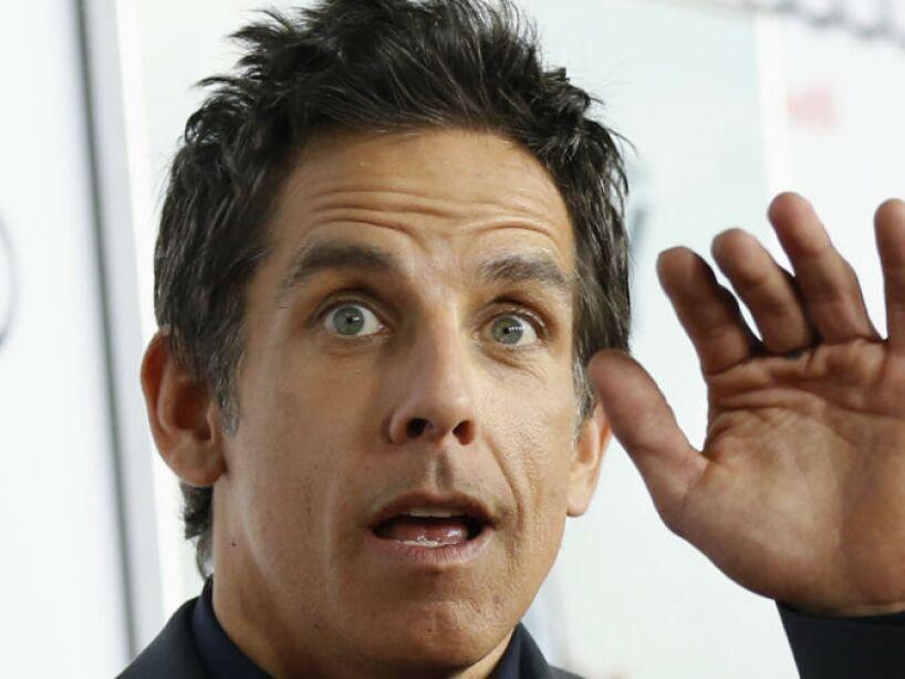 10. Ben Stiller: Famoso por papeles en Theres Something About Mary, Zoolander, Meet the Parents y Noche en el Museo.