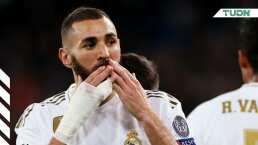 Benzema superó a una leyenda del Real Madrid en goles en Champions